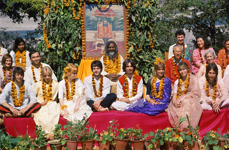 Meeting the Beatles in India